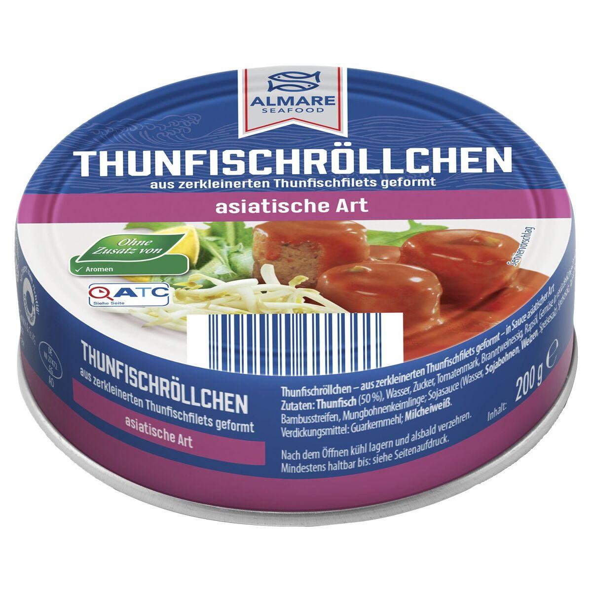 Bild 2 von ALMARE Thunfisch Röllchen 200 g