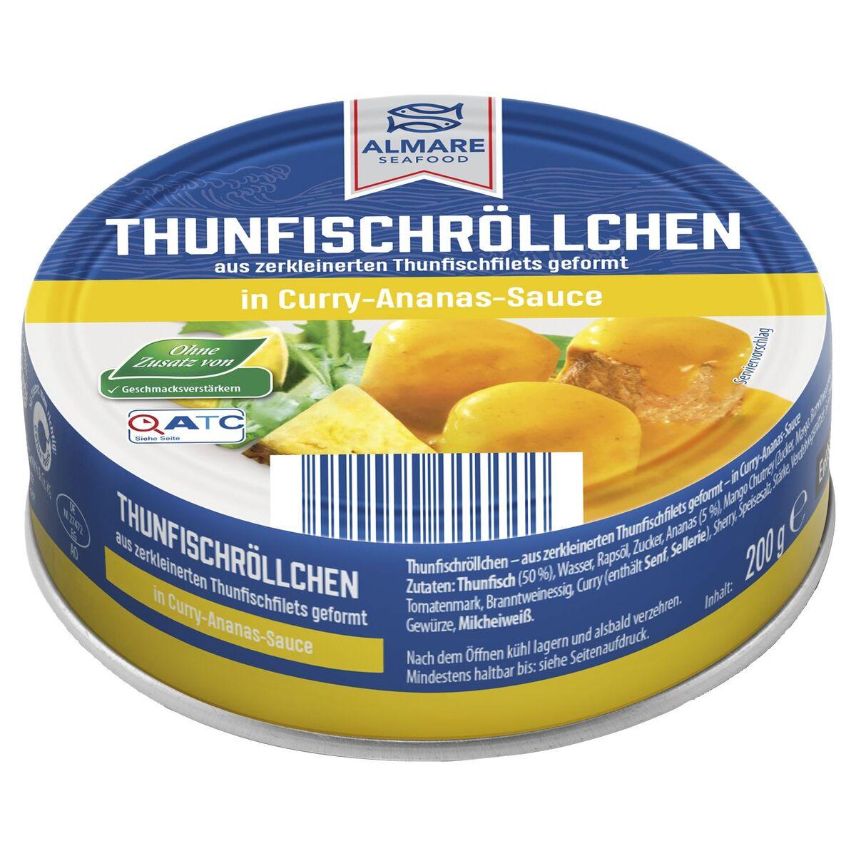 Bild 3 von ALMARE Thunfisch Röllchen 200 g