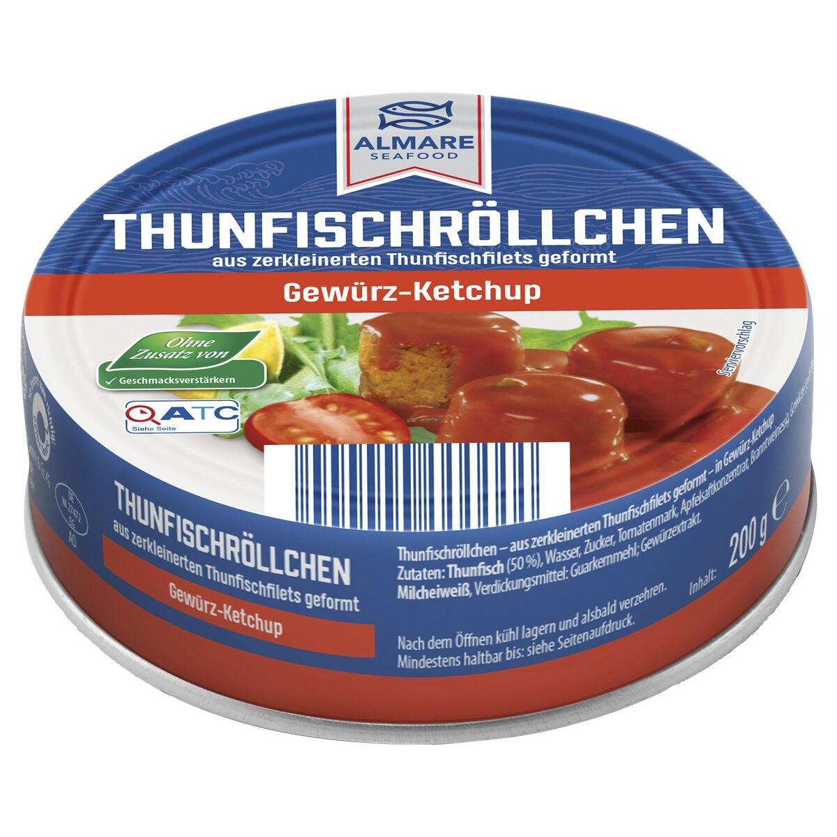 Bild 4 von ALMARE Thunfisch Röllchen 200 g
