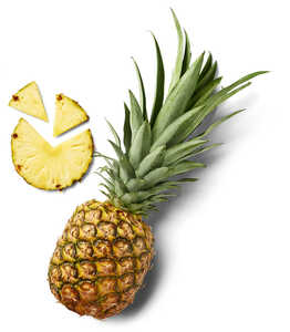 Costa-rican. Ananas