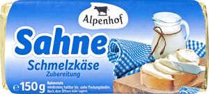 ALPENHOF  Schmelzkäse-Zubereitung