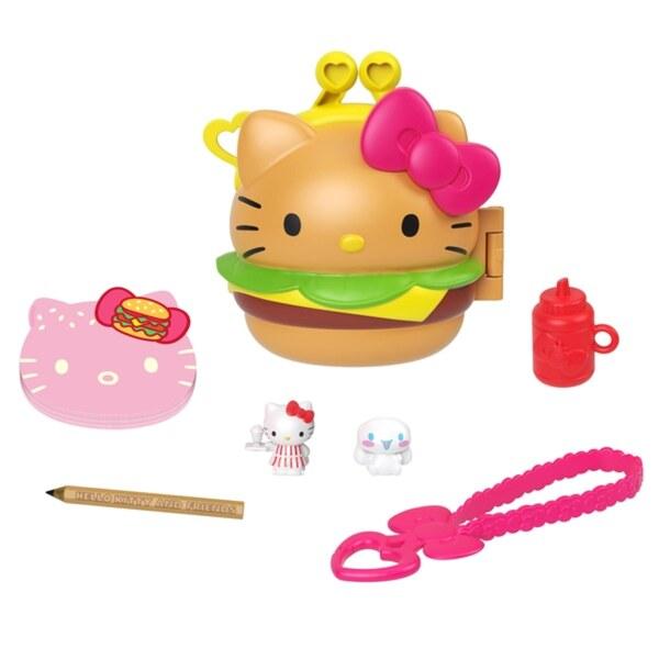Hello Kitty and Friends Minis Hamburger Spielset