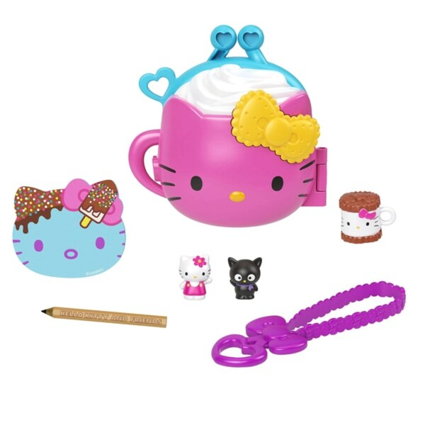 Hello Kitty and Friends Minis Cocoa Camp Spielset