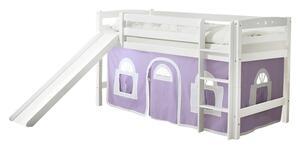 Spielbett in Weiß/Violett ´867964 THEO R´