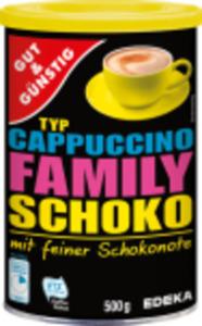 Gut & Günstig Family Schoko Cappuccino