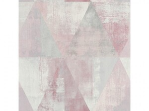 Rasch Vliestapete Hyde Park ,  Grafik rosa grau, 10,05 x 0,53 m