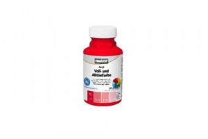 Primaster Voll- und Abtönfarbe SF217 ,  250 ml, rot, matt