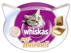 Whiskas Anti-Hairball ,  60 g
