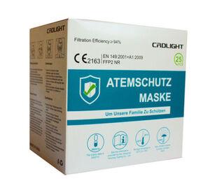 Million X FFP2 Atemschutzmaske CE 2163 - 25 Stück
