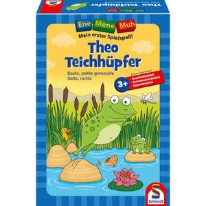 """Schmidt Spiele Theo Teichhüpfer, """"Ene Mene Muh"""", Mein erster Spielspaß, Lernspiel"""