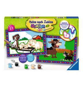 Ravensburger Malen nach Zahlen Liebe Bauernhoftiere