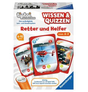 Ravensburger tiptoi - Wissen und Quizzen: Retter und Helfer