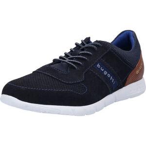 Bugatti Sneaker, low, Rindsleder, zweifarbig, für Herren