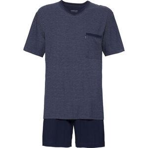 Ammann Schlafanzug, kurz, gestreift