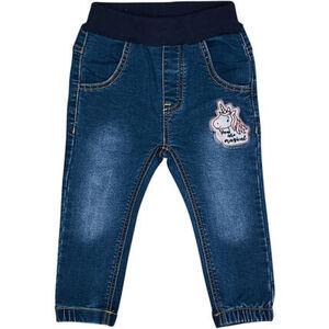 Salt & Pepper Jeans, Rippbund, elastische Bündchen, Patch, für Baby Mädchen