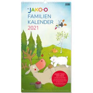 JAKO-O Familienkalender mit Knick 2021