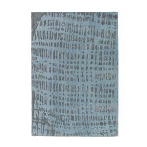 Joop! Joop croco 200/300 cm blau, silberfarben , Joop! Croco , Textil , Abstraktes , 200x300 cm , in verschiedenen Größen erhältlich , 007645009572