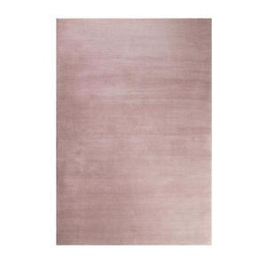 Esprit Hochflorteppich 80/150 cm getuftet rosa , Loft Esp-4223 , Textil , Uni , 80x150 cm , für Fußbodenheizung geeignet, in verschiedenen Größen erhältlich, lichtunempfindlich, pflegeleicht, st