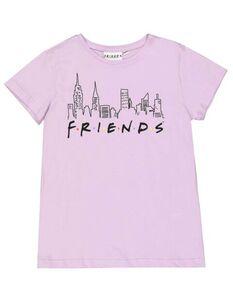 Mädchen T-Shirt mit Friends-Print