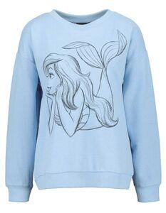 Damen Sweatshirt mit Arielle-Print
