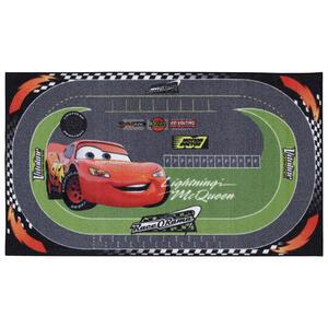Disney Kinderteppich 100/170 cm grün, rot, schwarz , Cars Racing Rug , Textil , 100x170 cm , 008073001254