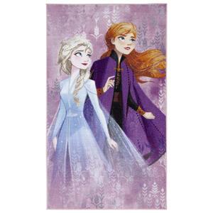 Disney Kinderteppich 80/140 cm lila, weiß , Frozen 2 , Textil , 80x140 cm , 008073002054
