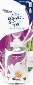 Glade by Brise Sense & Spray Relaxing Zen Nachfüller 18 ml