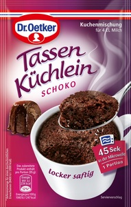 Dr.Oetker Tassenküchlein Schoko 55 g