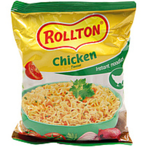 """Instantnudelsuppe mit Hühnerfleischgeschmack """"Rollton"""""""