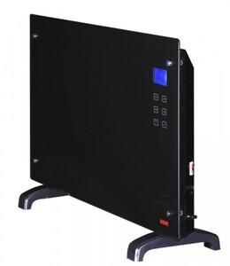 Rowi Glas-Wärmekonvektor 2000 W mit Timerfunktion inkl. Premiumthermostat, LCD-Display, Fernbedienung