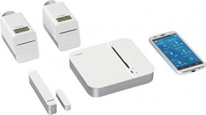 Bosch Starter-Paket Raumklima Smart Home Controller, 2x Thermostat, Fensterkontakt