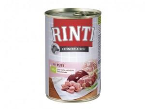 Rinti Kennerfleisch Pute - Sparpack ,  400 g, Sparpreis bei Kartonabnahme