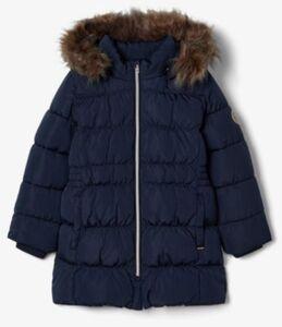 Wintermantel NMFMOLLY  dunkelblau Gr. 92 Mädchen Kleinkinder