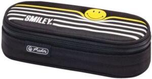 Herlitz Schüleretui Smiley B&Y Stripes schwarz/weiß Mädchen Kinder