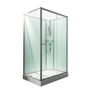 "Schulte              Wellnesskabine ""Ibiza"", 204x120x80 cm, rechts, light-grün"