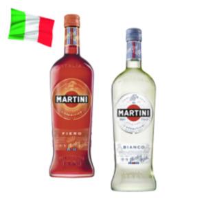 Martini Bianco, Rosso, Fiero oder Prosecco Frizzante