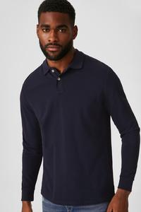 C&A Poloshirt-Bio-Baumwolle, Braun, Größe: M