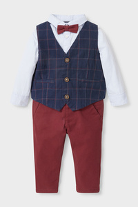 Baby-Outfit - 4 teilig