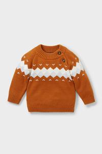 Baby-Pullover - Bio-Baumwolle