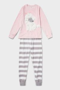 C&A Pyjama-2 teilig, Rosa, Größe: 170