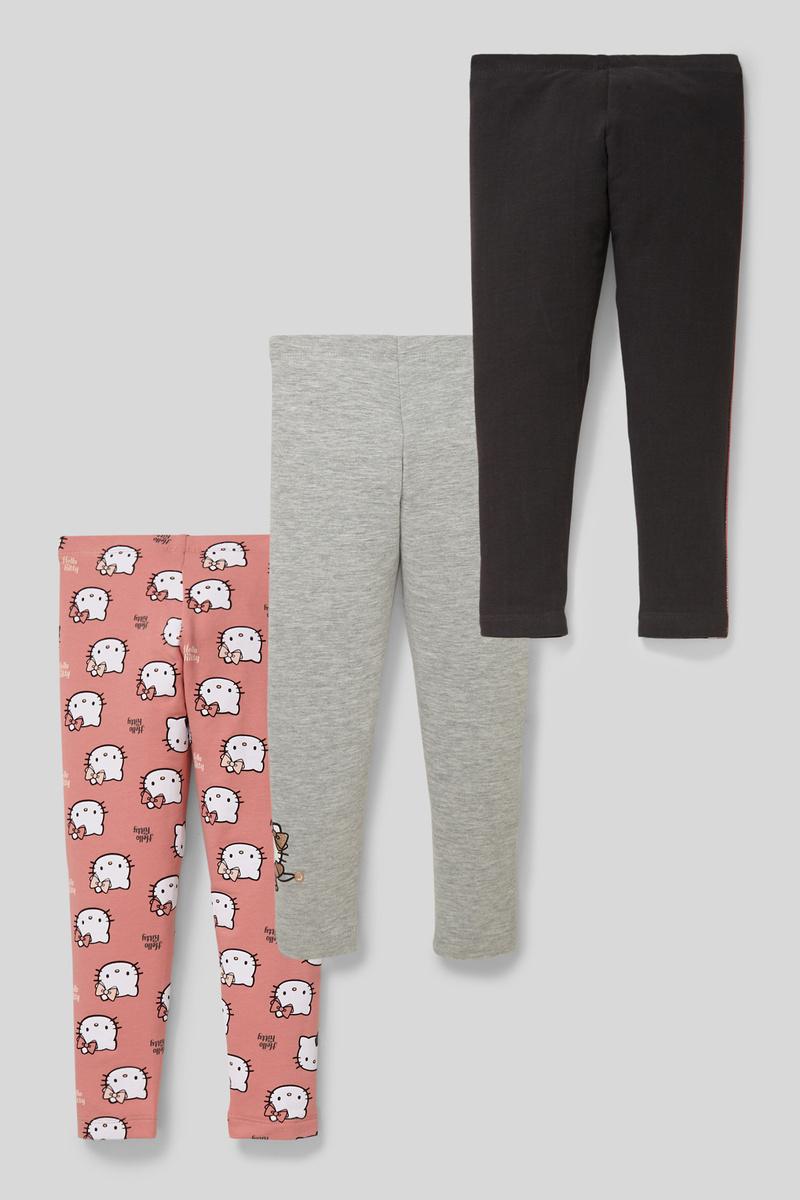 Bild 2 von Hello Kitty - Leggings - Bio-Baumwolle - 3er Pack