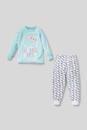 Bild 2 von C&A Hello Kitty-Pyjama-Bio-Baumwolle-2 teilig, Türkis, Größe: 104