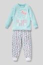 Bild 3 von C&A Hello Kitty-Pyjama-Bio-Baumwolle-2 teilig, Türkis, Größe: 104