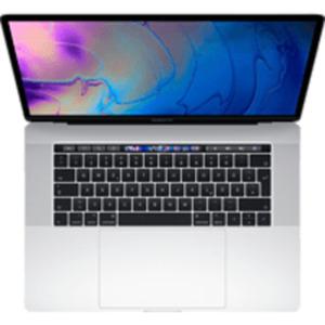 APPLE MacBook Pro MR962D/A-139896 mit deutscher Tastatur, Notebook 15,4 Zoll Display, Core i9 Prozessor, 16 GB RAM, 2 TB SSD, Radeon™ 555X, Silber