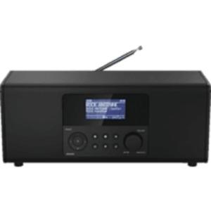 HAMA DIR3020 Digitalradio, DAB, DAB+, Internet Radio, Schwarz