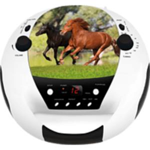 BIGBEN CD52USB/MP3 Horse Radiorecorder, mehrfarbig