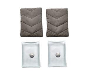 2 Taschen-Heizkissen