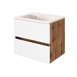 Held-Möbel Waschtischunterschrank Weiß