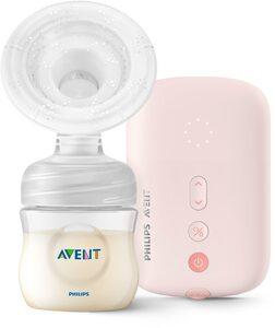 Philips AVENT Elektrische Milchpumpe »SCF395«, Set, 7-tlg., mit 120 ml Natural Flasche