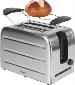 Hanseatic Toaster 36814853, 2 kurze Schlitze, 1050 W